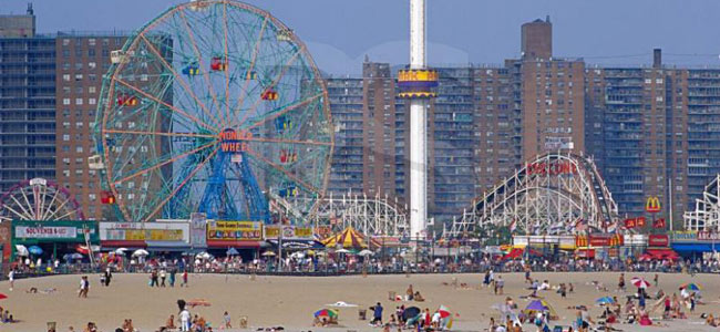 Coney Island a New York, il parco divertimenti