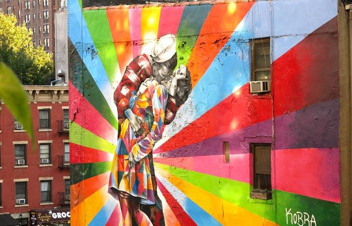 high line murales