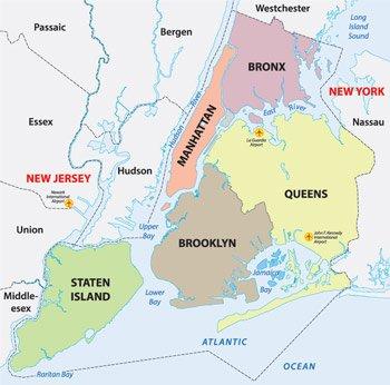 distretti new york