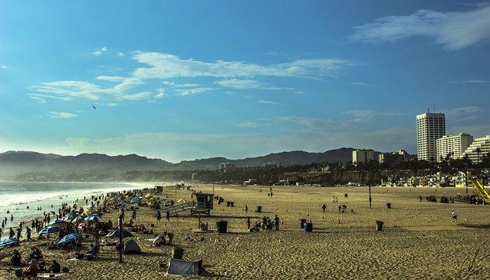 santa monica spiaggia