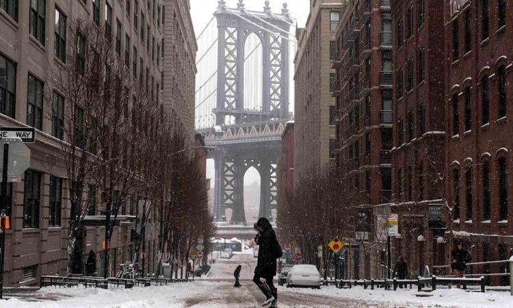 new york febbraio