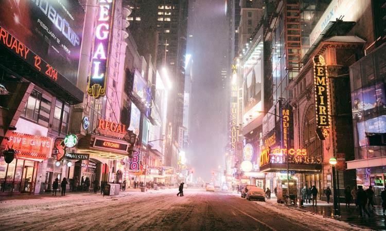 new york gennaio