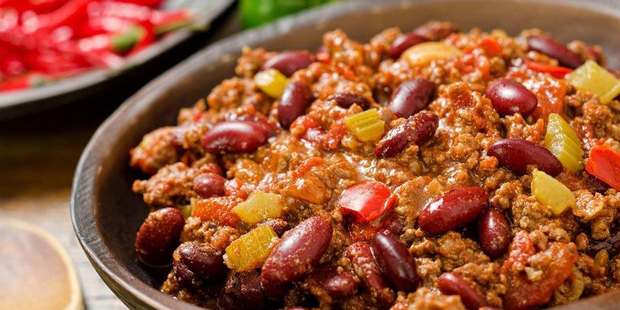 ricetta chili carne
