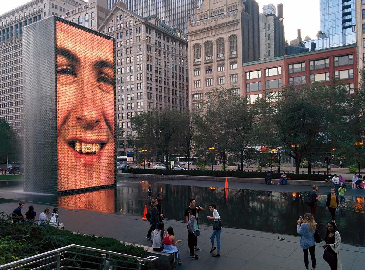 chicago millennium park arte