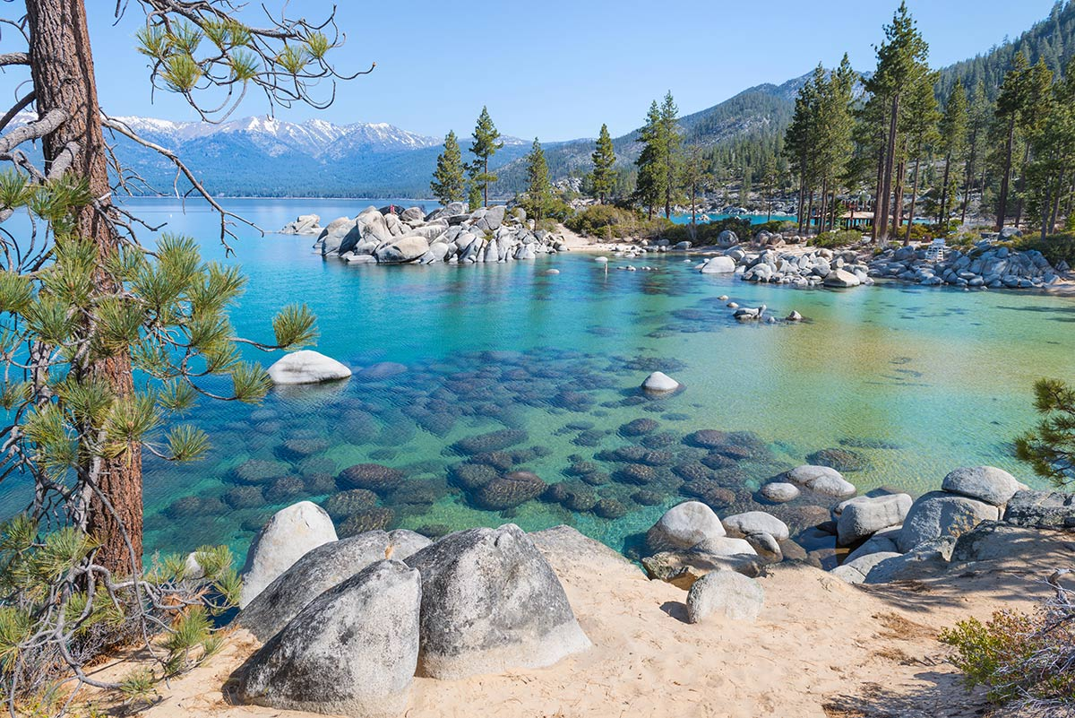 lake tahoe viaggio