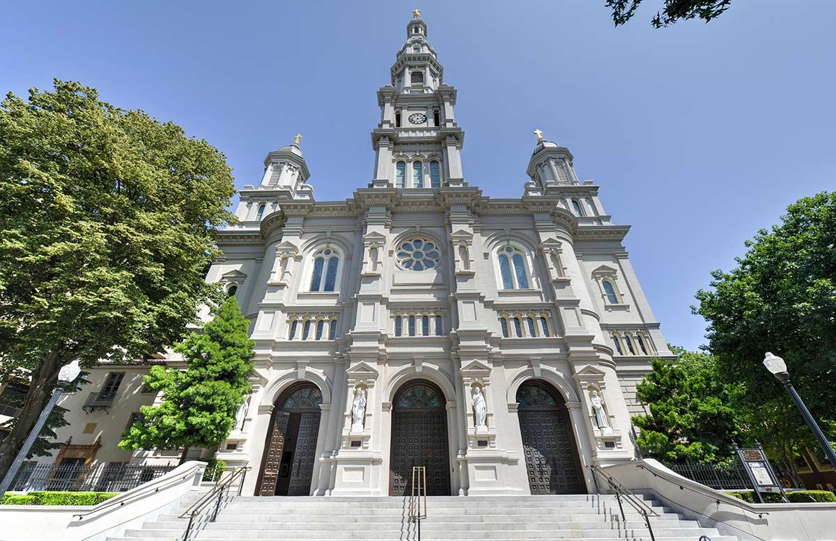 Catholic Cathedral of the Blessed Sacrament sacramento