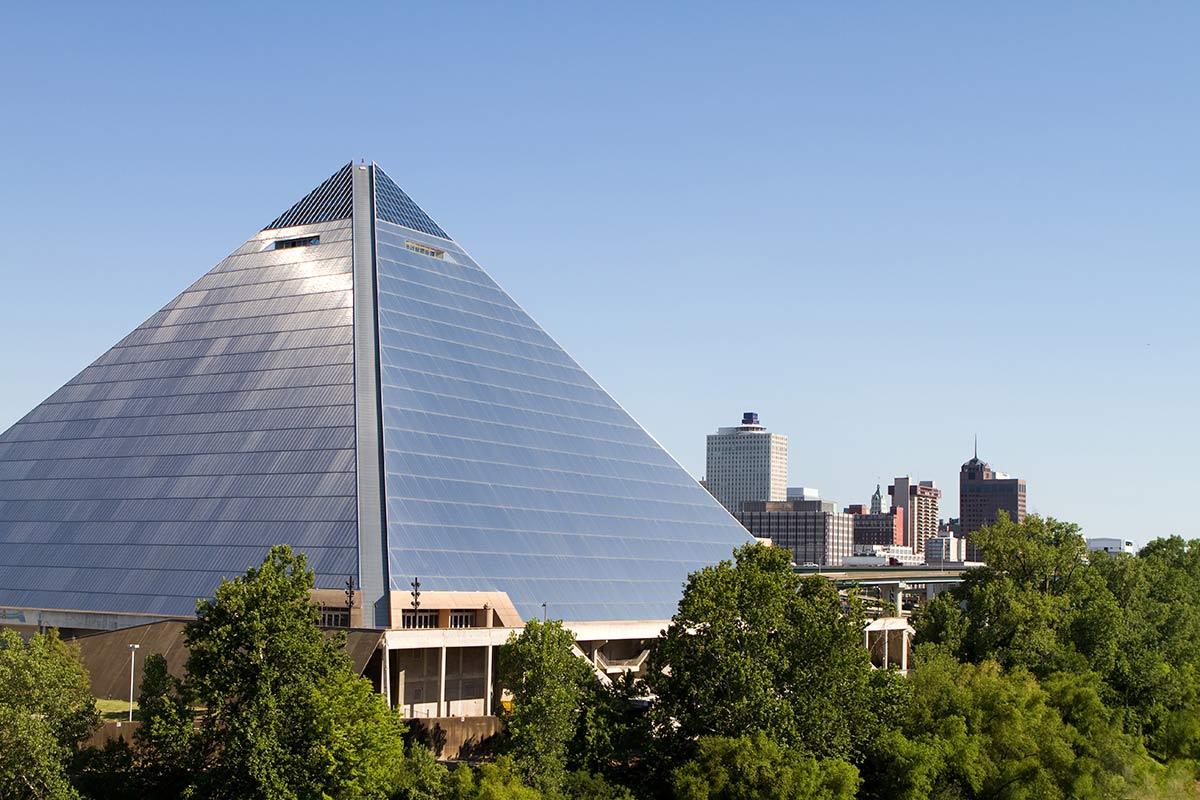 Memphis City Arena piramide
