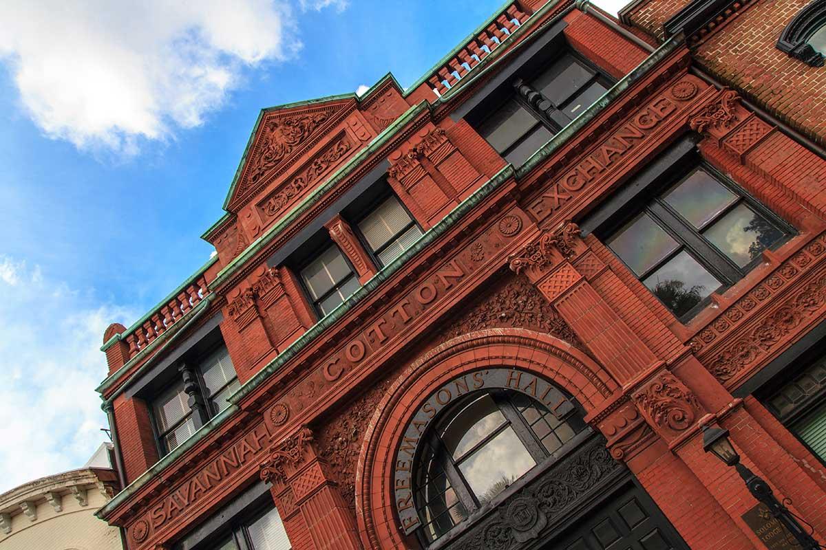 Old Savannah Cotton Exchange Building