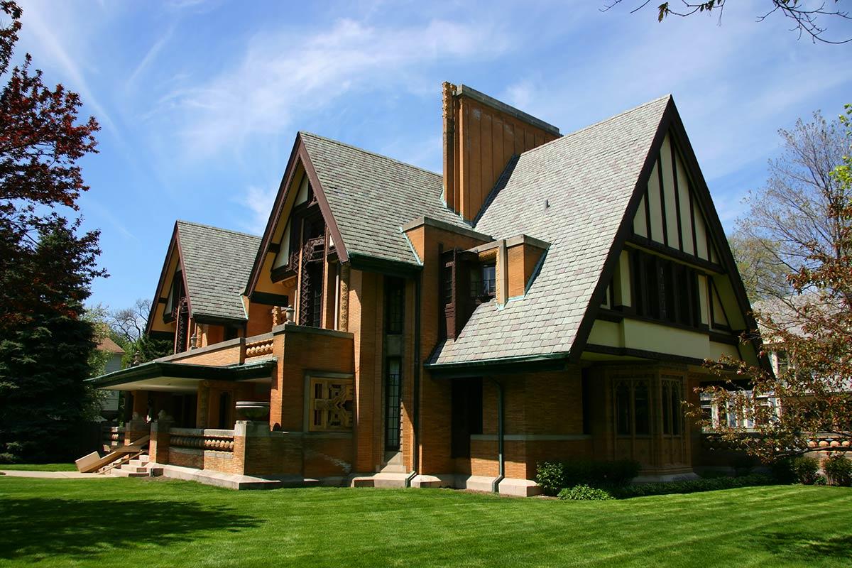 Frank Lloyd Wright Moore Dugal house oak park