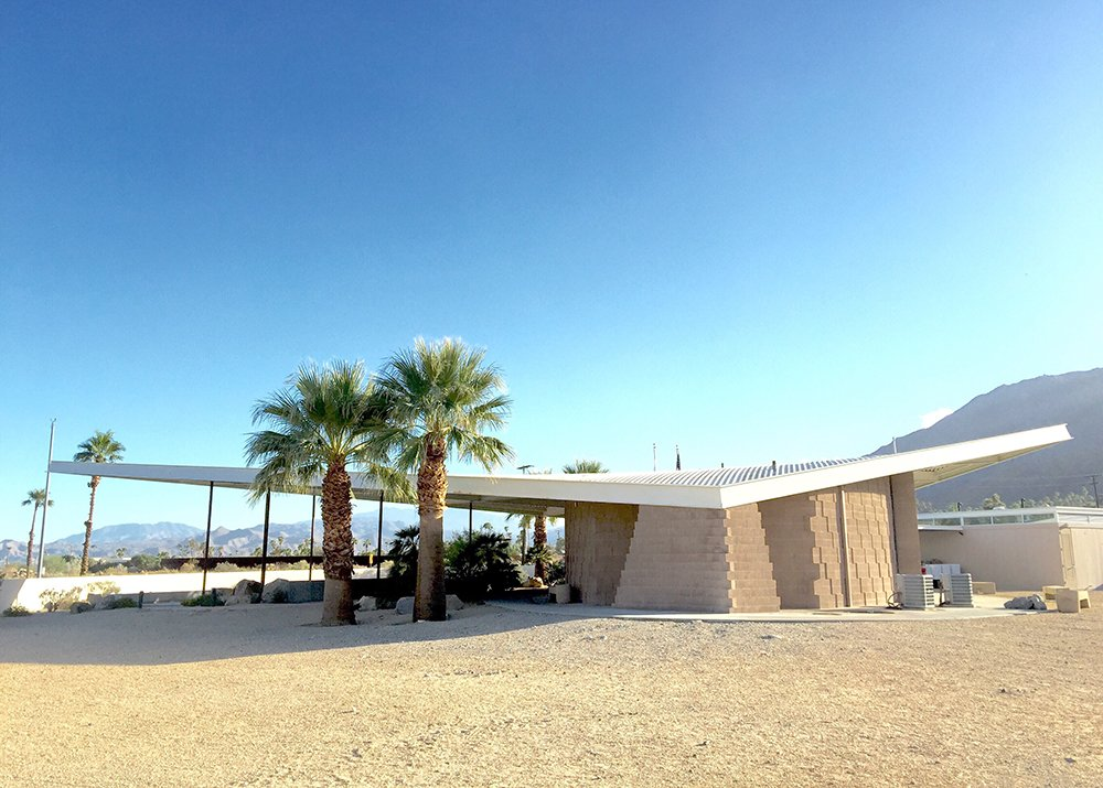 visitor center palm springs