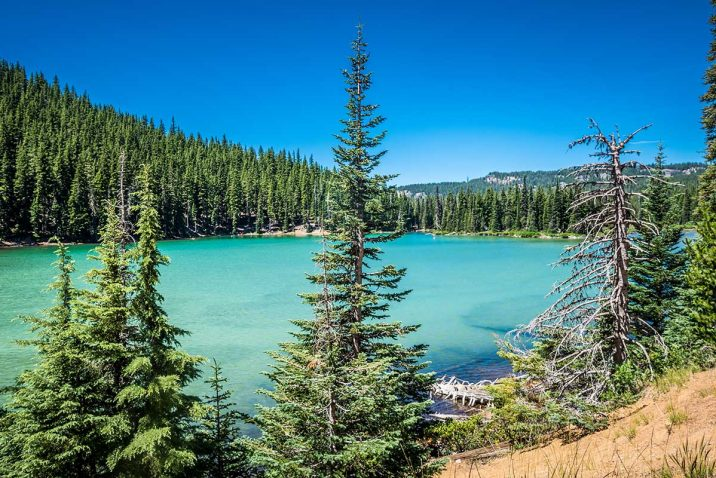 Cascade Lakes Scenic Byway oregon