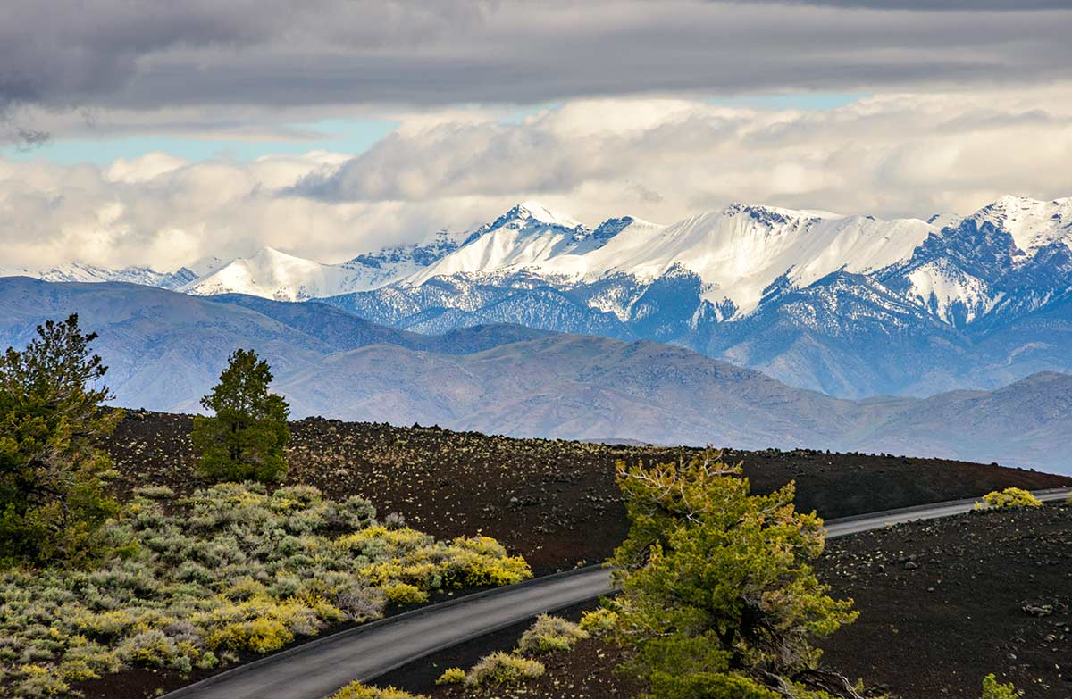 Craters of the Moon National Monument and Preserve idaho