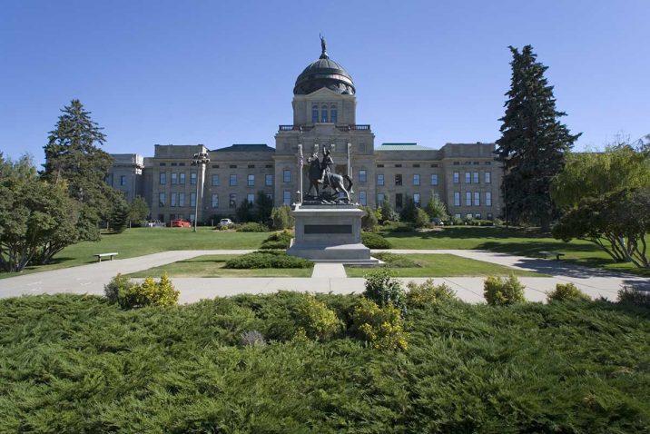 State Capitol Helena montana