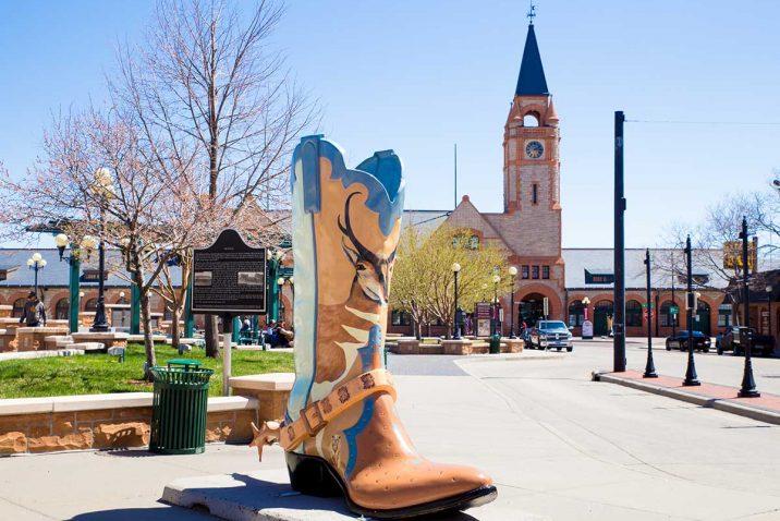 cheyenne wayoming historic downtown