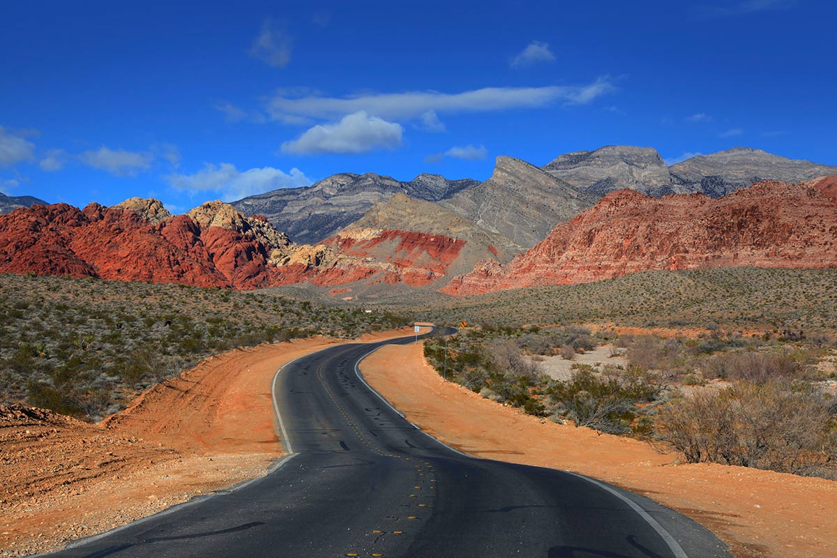 red rock canyon mojave california