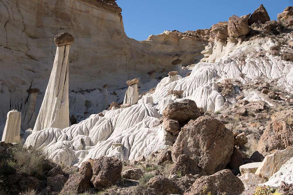 Th- Wahweap Hoodoos grand staricase