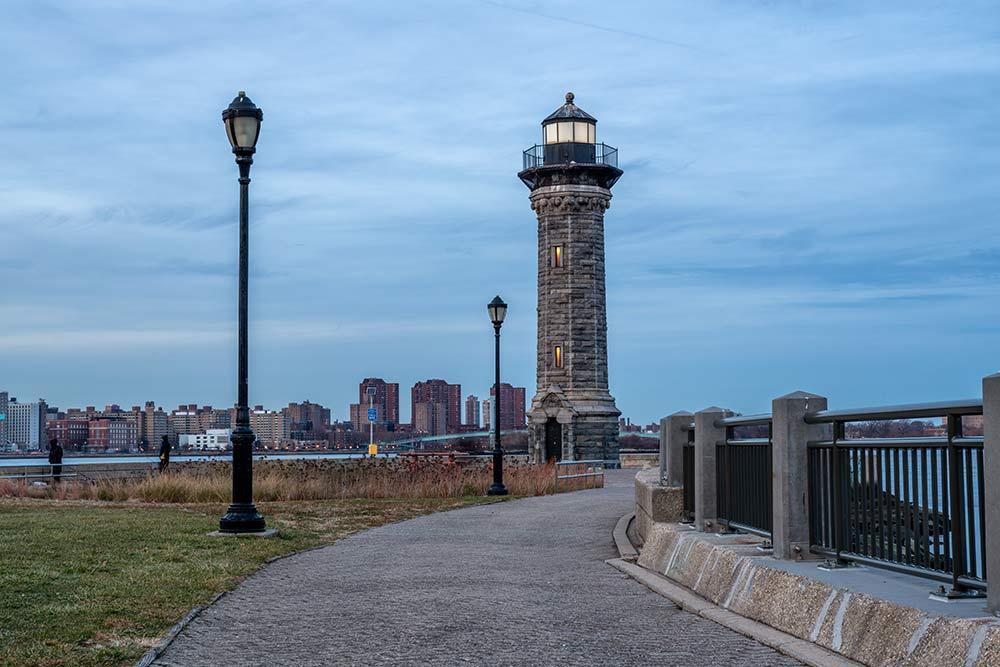 roosevelt island Lighthouse Park