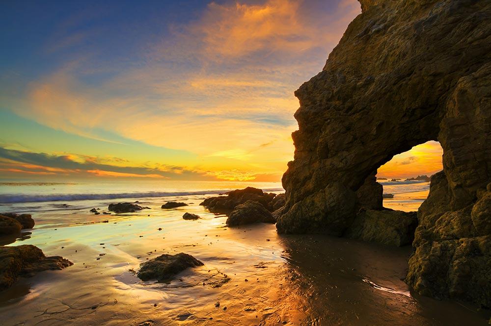 el matador beach malibu california