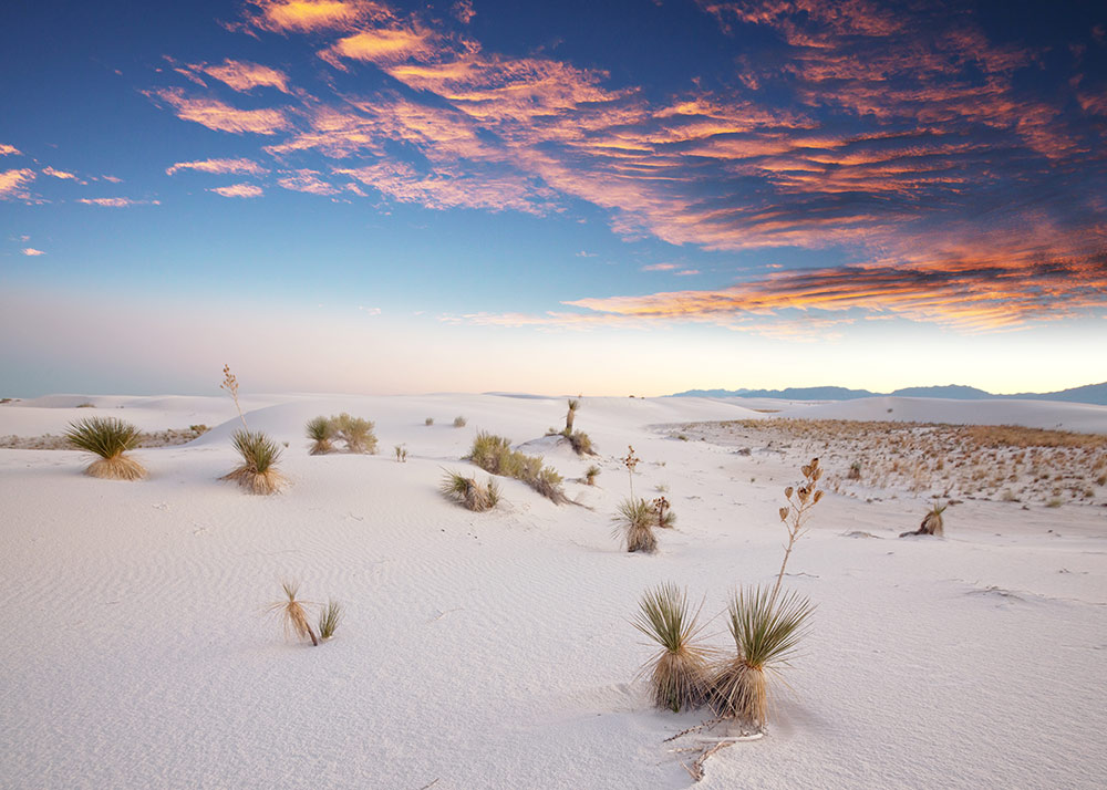 white sands- national park cosa vedere