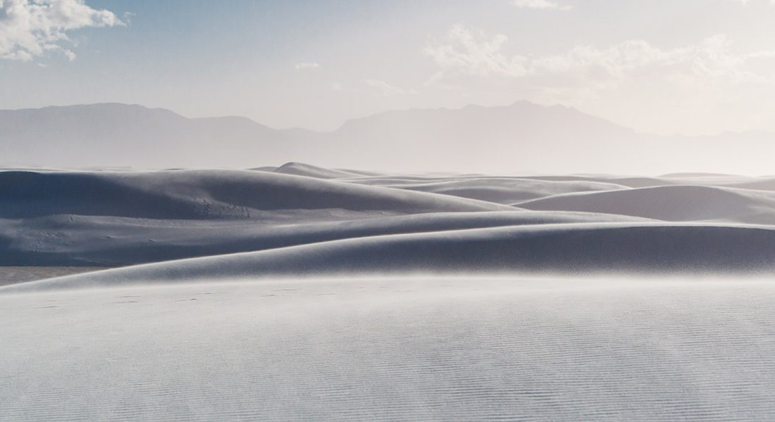 white sands national park nuovo messico
